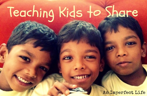 Teaching Kids to Share