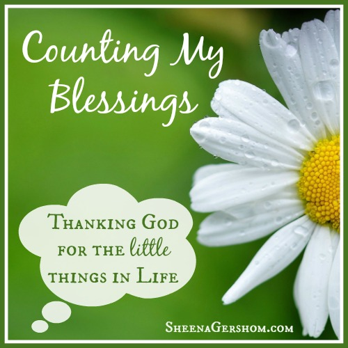 Counting My Blessings