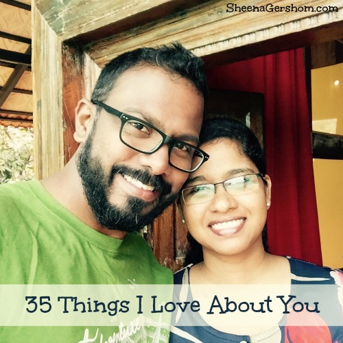 35 Things I Love About You